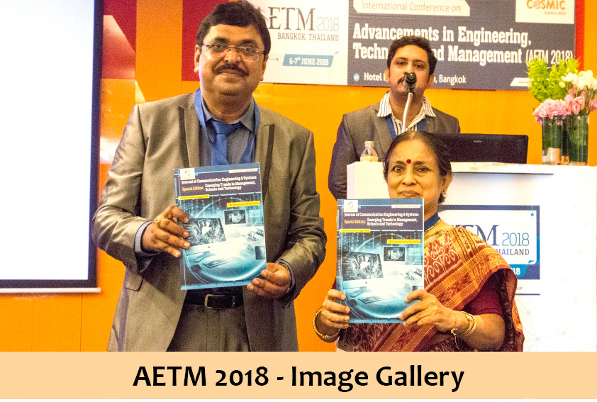 International Conference AETM 2018 | UGC approved journals